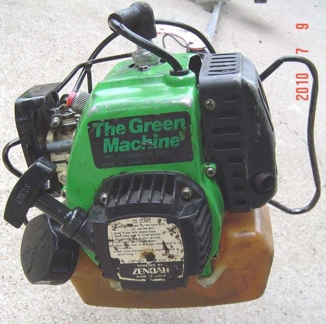 green machine leaf blower parts