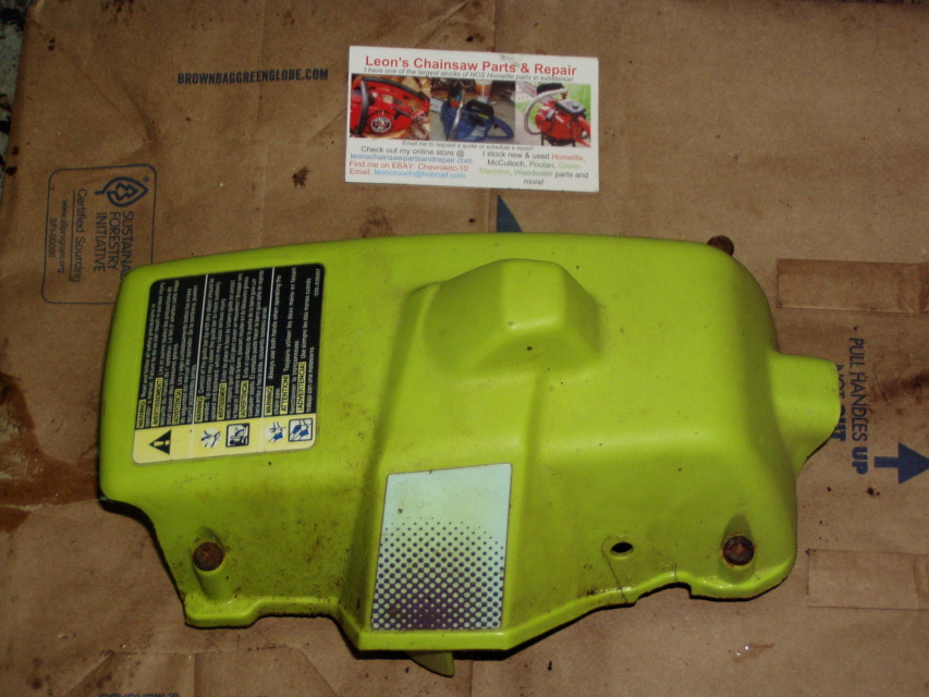 Air Filter Poulan Wild Thing : Poulan chainsaw parts