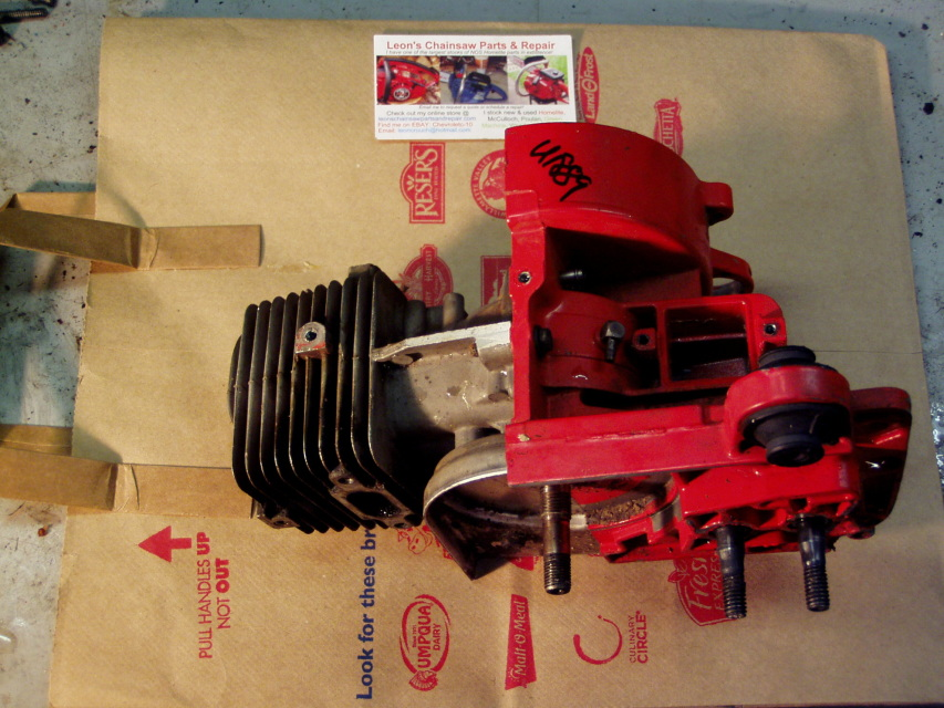 Used Homelite 330 Chainsaw Short Block Engine Assembly A