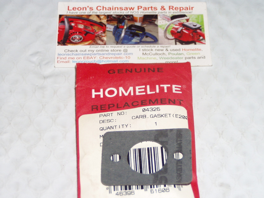 Nos homelite 00388-B 00388-A 00388 spark arrester screen leaf Blower trimmer